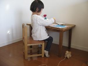 オーダーメイド木製品:お勉強机